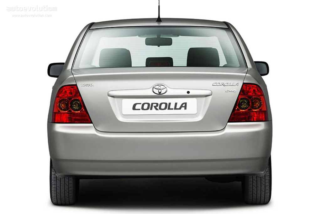 toyota corolla sedan specs 2004 2005 2006 2007 autoevolution. Black Bedroom Furniture Sets. Home Design Ideas