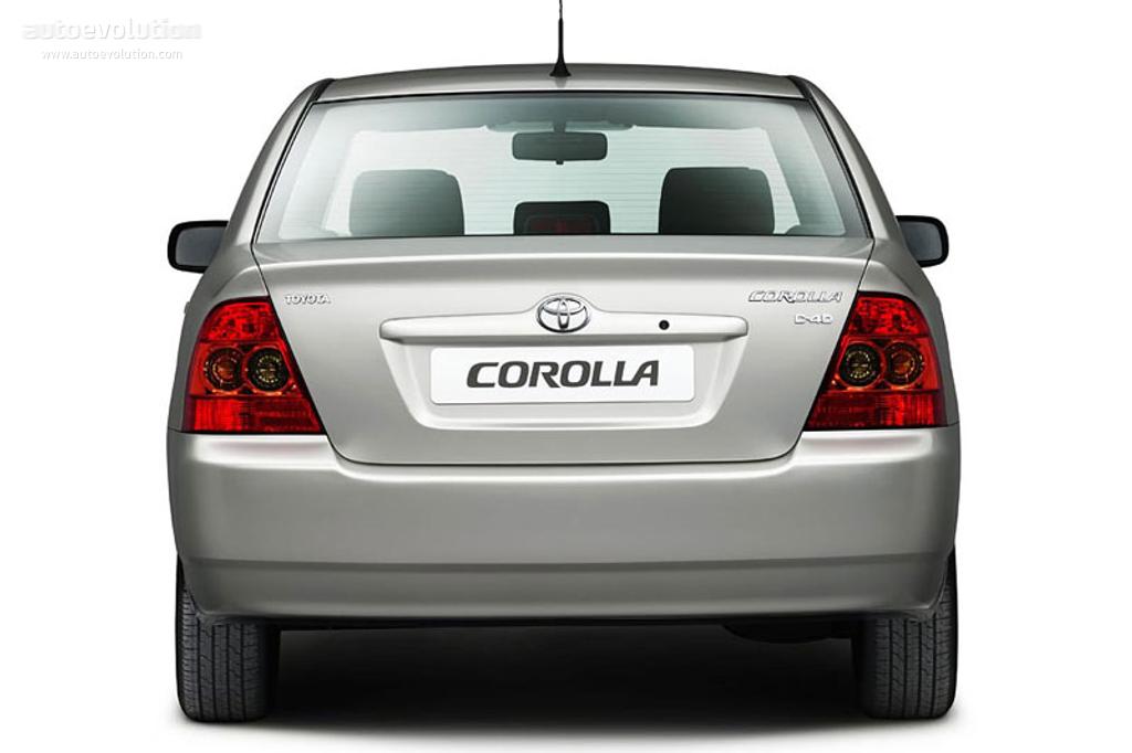 Toyota Corolla Sedan 2004 2005 2006 2007 Autoevolution