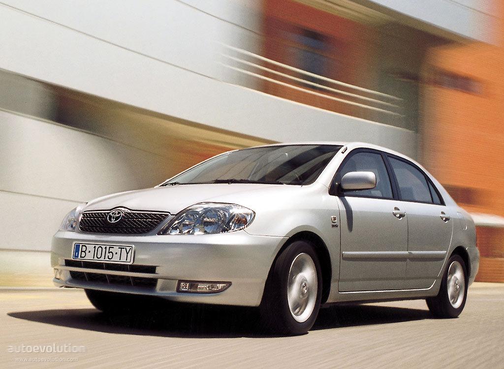 Toyota Corolla Sedan - 2003  2004
