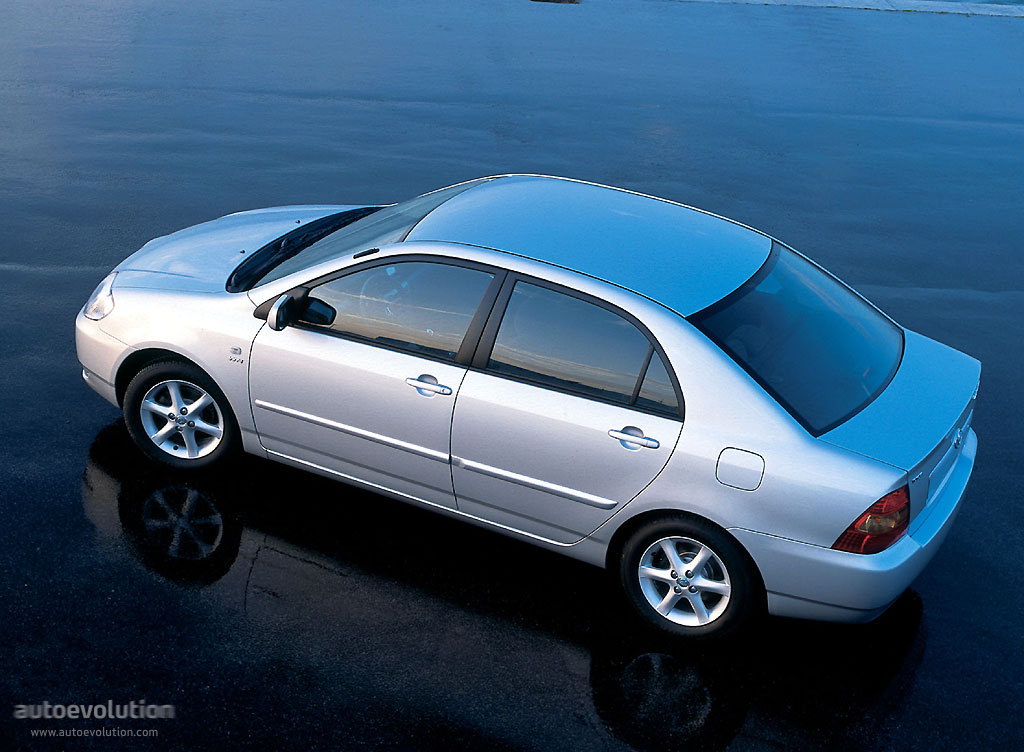 Toyota Corolla Sedan 2003 2004 Autoevolution