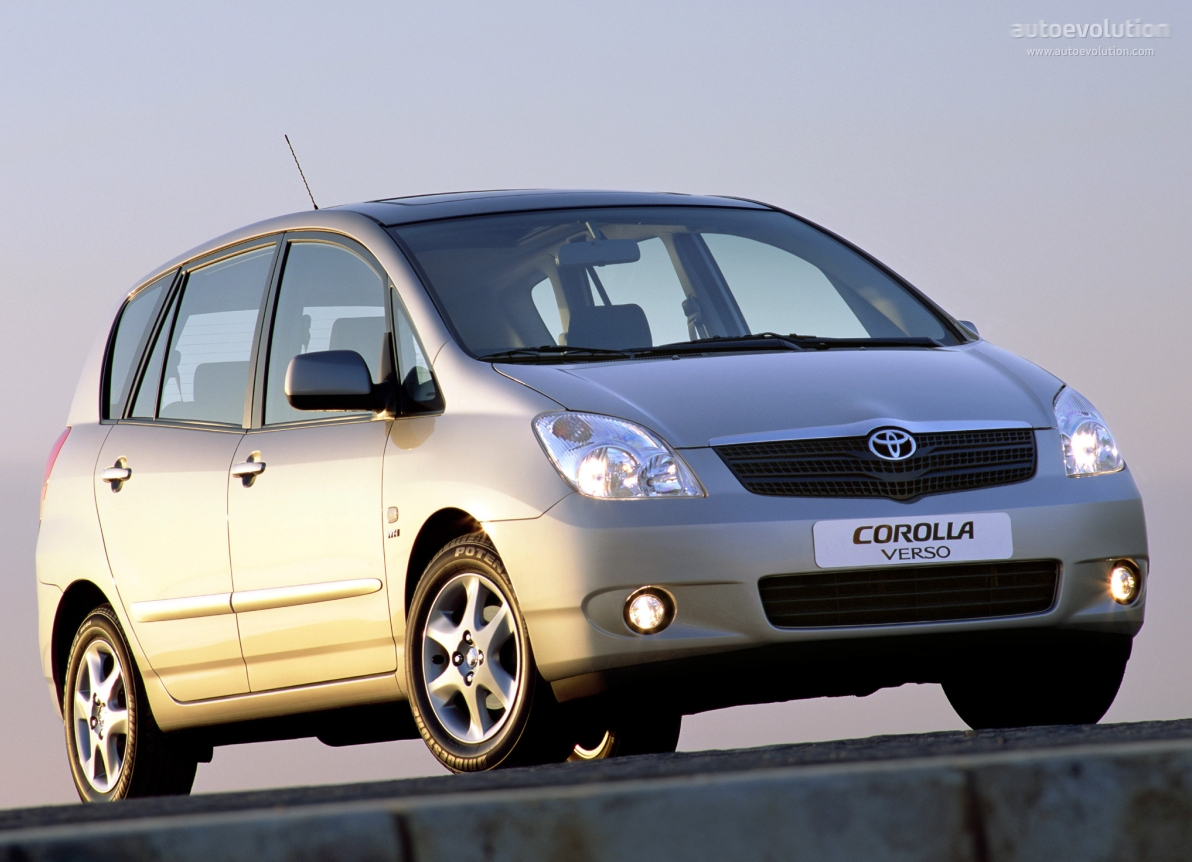 toyota corolla verso specs 2002 2003 2004 autoevolution. Black Bedroom Furniture Sets. Home Design Ideas