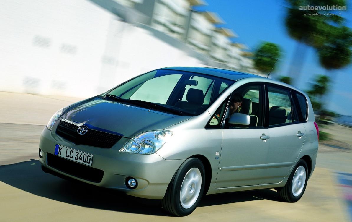 Toyota Corolla Verso 2002 2003 2004 Autoevolution