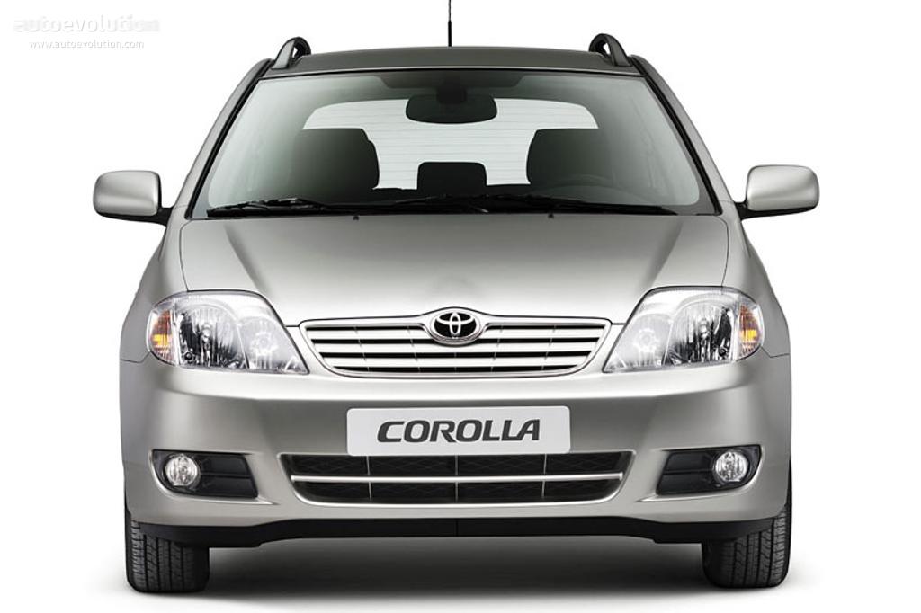 Toyota Corolla Wagon 2004 2005 2006 2007 Autoevolution