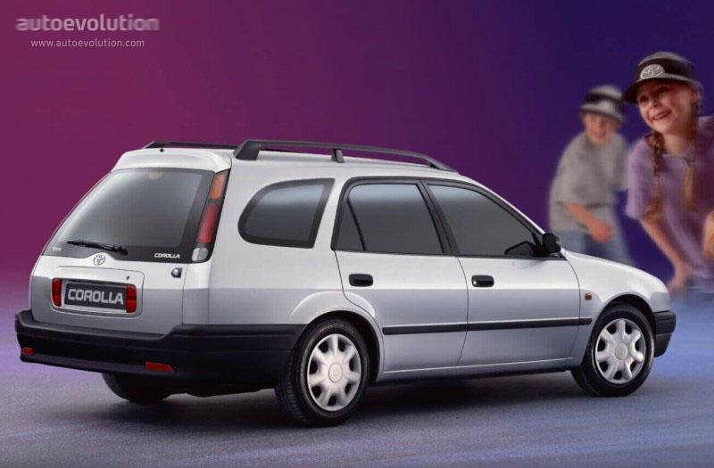 toyota corolla wagon specs - 1997, 1998, 1999, 2000 - autoevolution