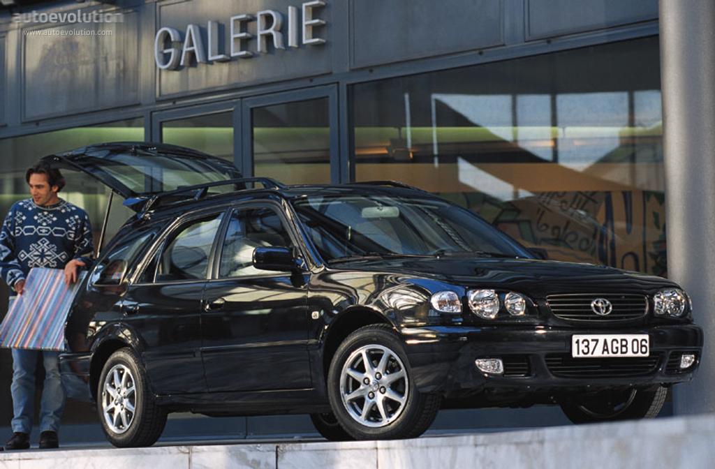 toyota corolla wagon specs - 2000, 2001, 2002 - autoevolution