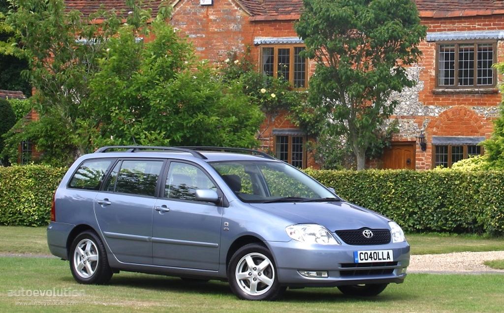 TOYOTA Corolla Wagon specs & photos - 2002, 2003, 2004 - autoevolution