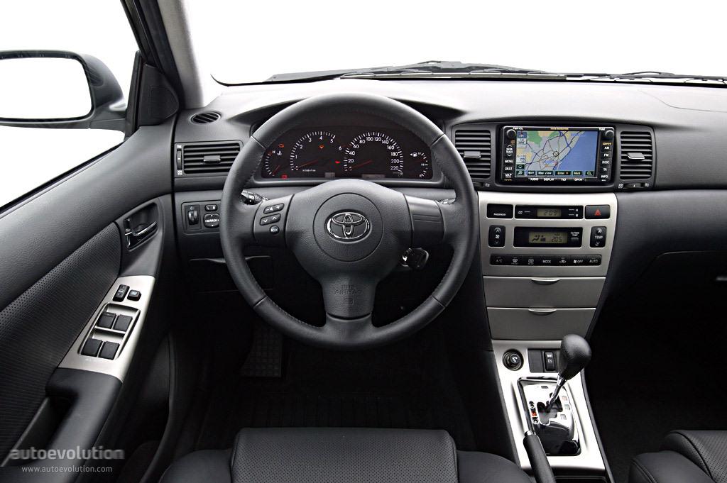 Toyota Corolla Wagon Specs - 2002  2003  2004