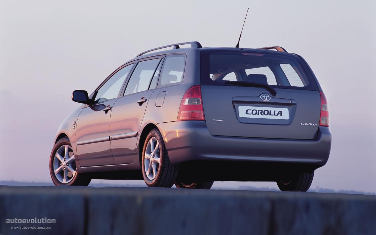 Toyota Corolla Wagon 2002 2003 2004 Autoevolution