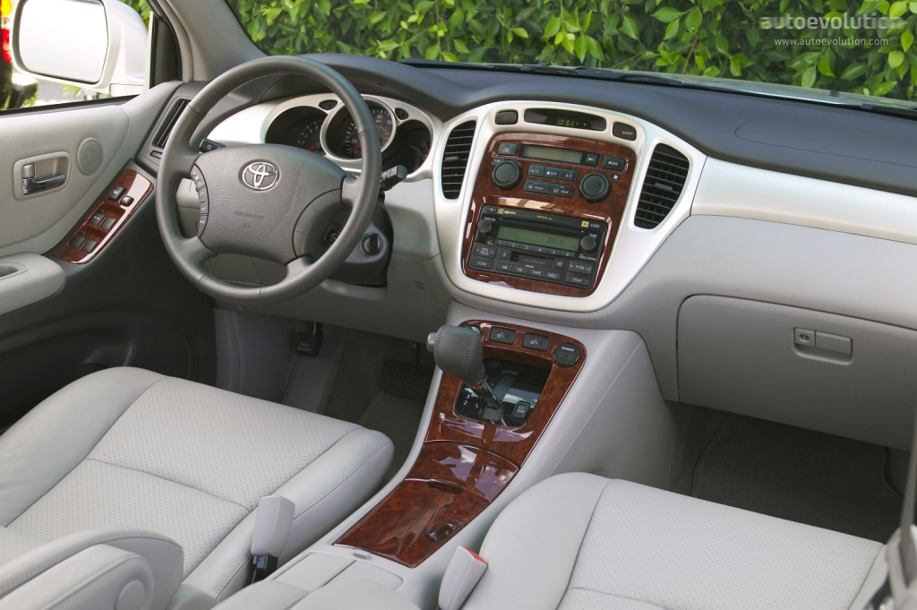 Toyota Highlander 2001 2002 2003 2004 2005 2006 Autoevolution