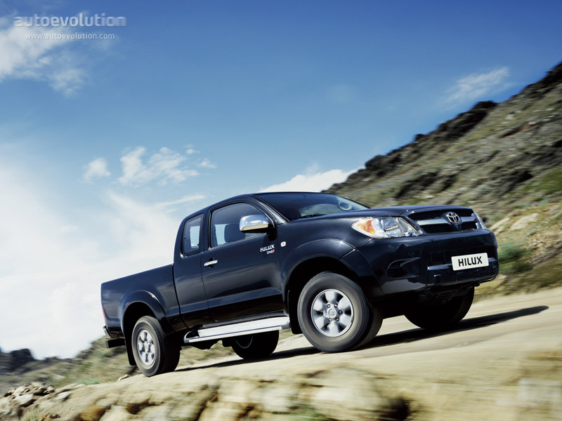 Hilux A Diesel >> TOYOTA Hilux Extra Cab specs - 2005, 2006, 2007, 2008, 2009, 2010, 2011 - autoevolution