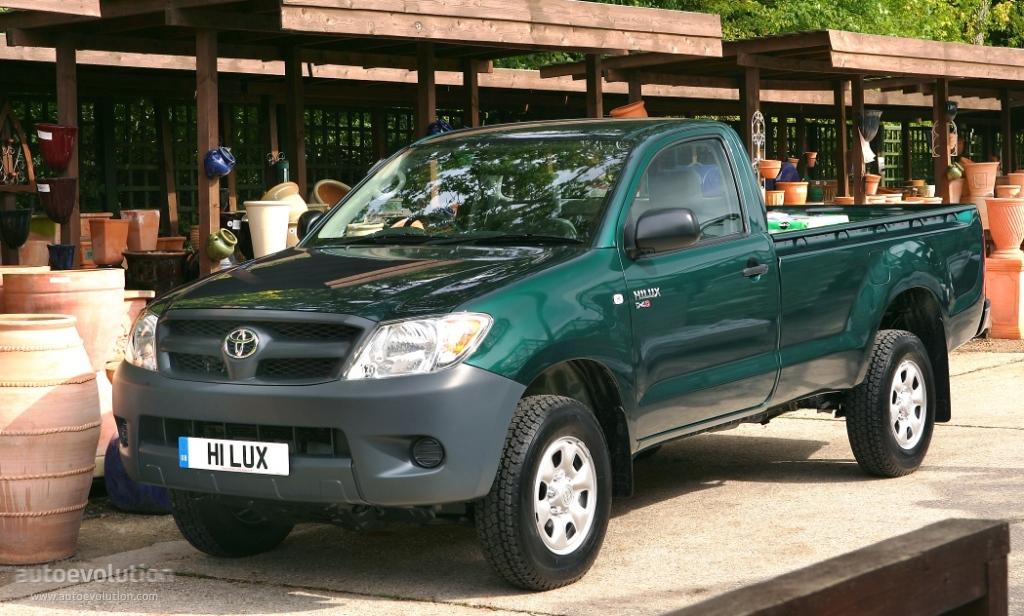 TOYOTA Hilux Single Cab - 2005, 2006, 2007, 2008, 2009, 2010, 2011 - autoevolution