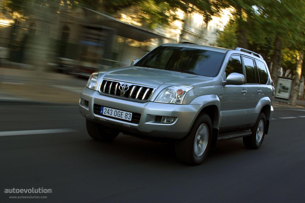 Toyota Land Cruiser 120 5 Doors 2003 2004 2005 2006