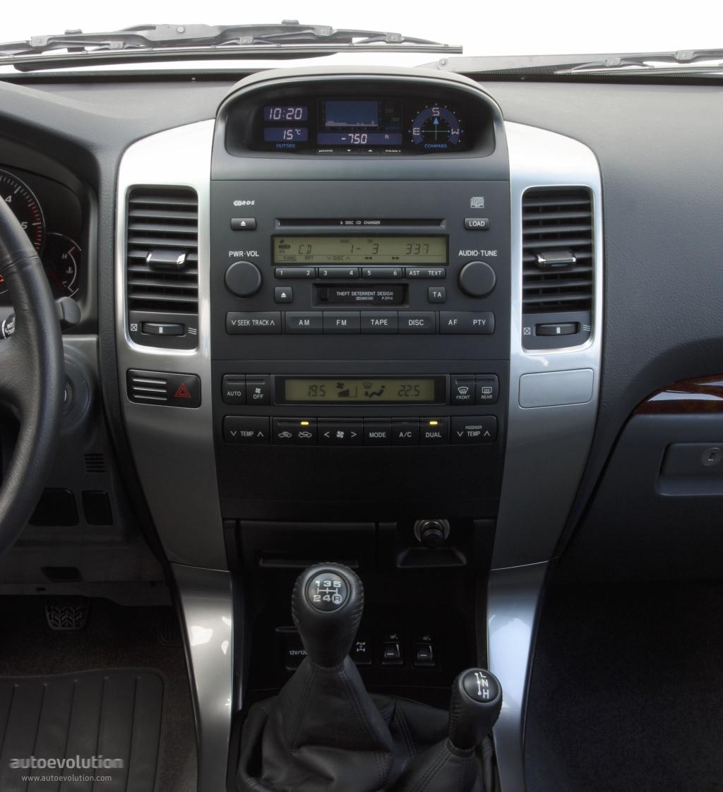 ... TOYOTA Land Cruiser 120 5 Doors (2003 - 2009)
