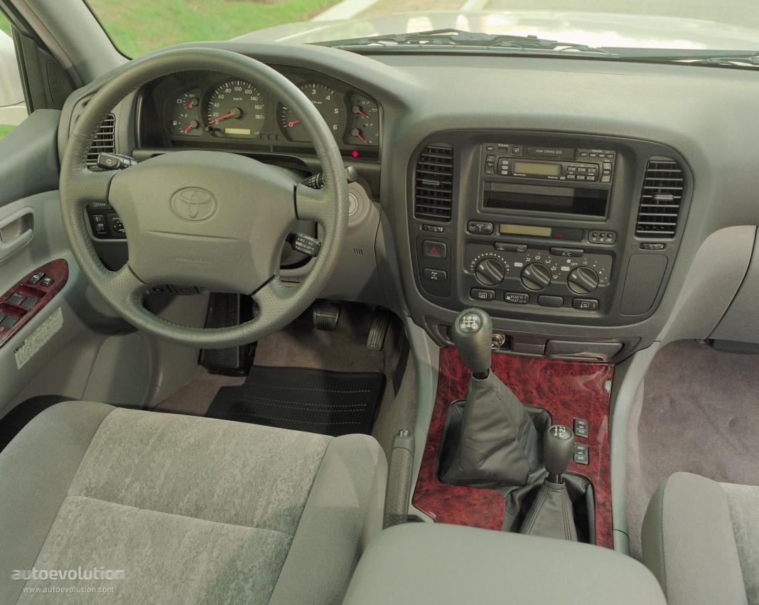 Toyota Land Cruiser 100 1998 1999 2000 2001 2002
