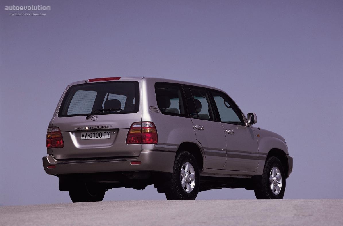 toyota land cruiser 100 specs - 1998, 1999, 2000, 2001, 2002