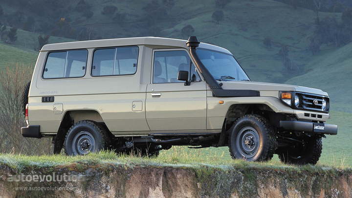 Toyota Land Cruiser Fj70 5 Seater Specs 1984 1985 1986