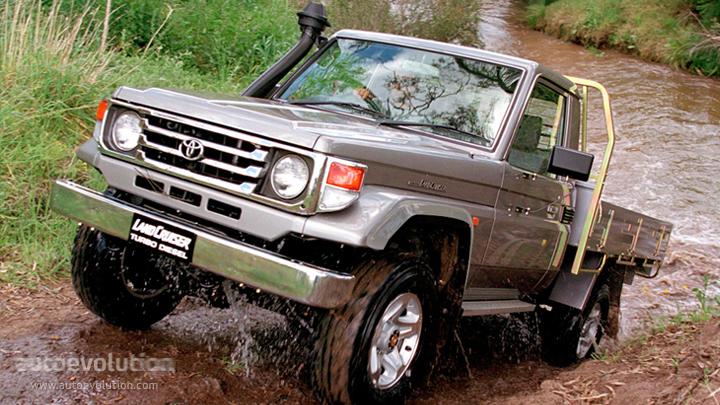 Toyota land cruiser fj70 pick up specs 1984 1985 1986 1987 1988 1989 1990 autoevolution