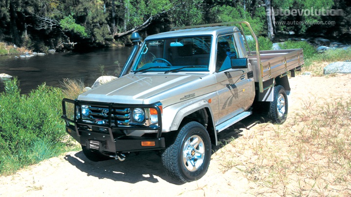 toyota land cruiser fj70 pick up specs photos 1984. Black Bedroom Furniture Sets. Home Design Ideas