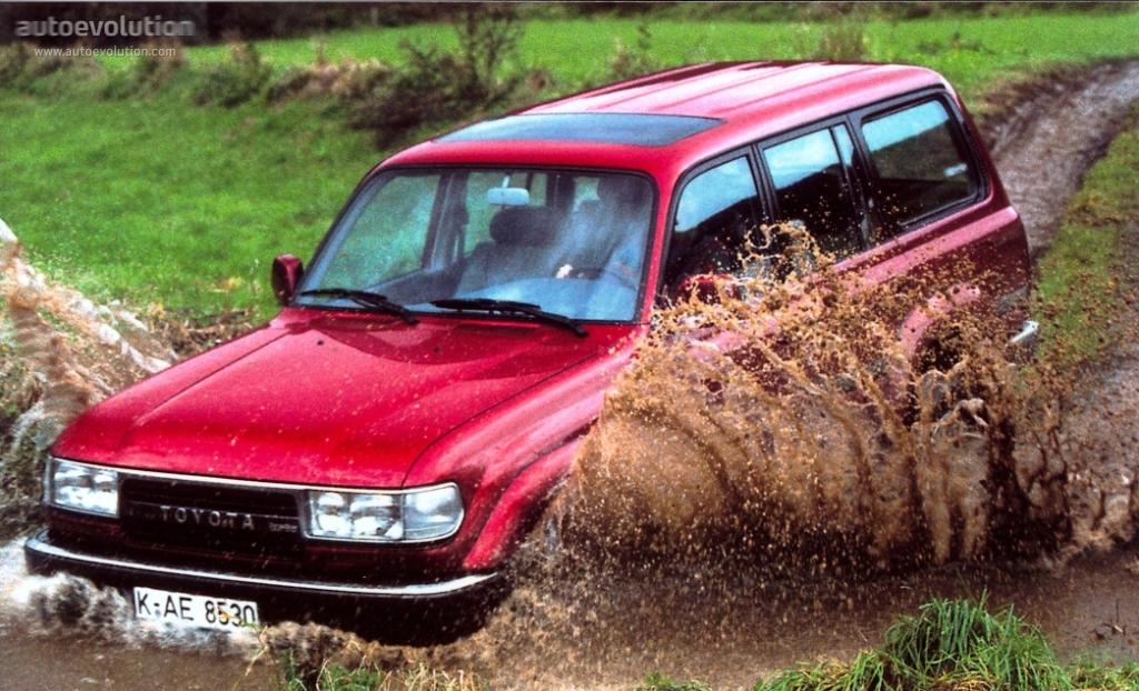 TOYOTA Land Cruiser FJ80 specs & photos - 1989, 1990, 1991, 1992