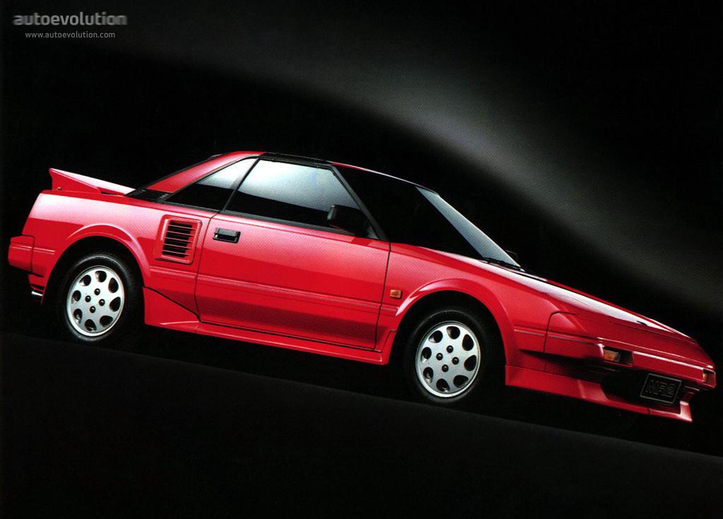 Toyota Mr2 1985 1986 1987 1988 1989 1990