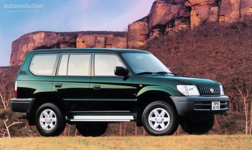 Toyota Prado Meru 1996 1997 1998 1999 2000 2001