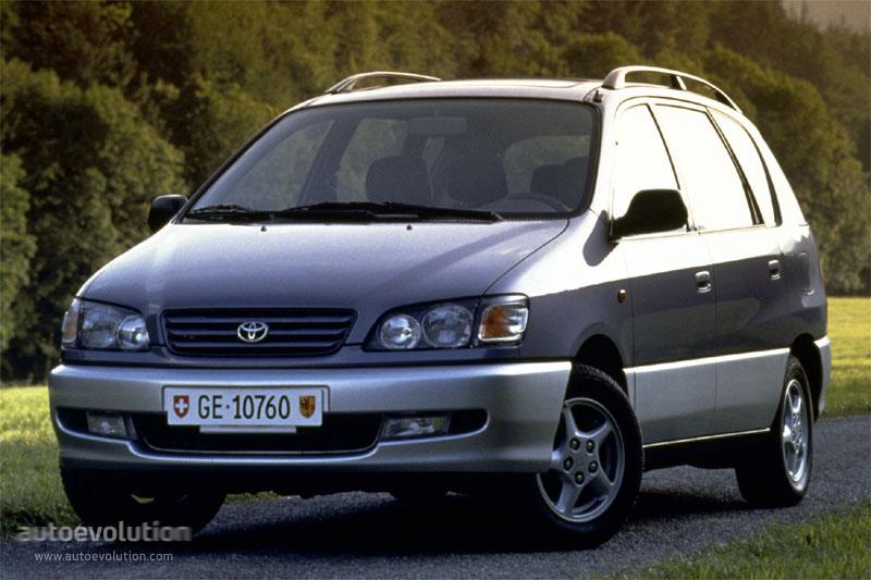 Toyota Picnic Specs 1996 1997 1998 1999 2000 2001