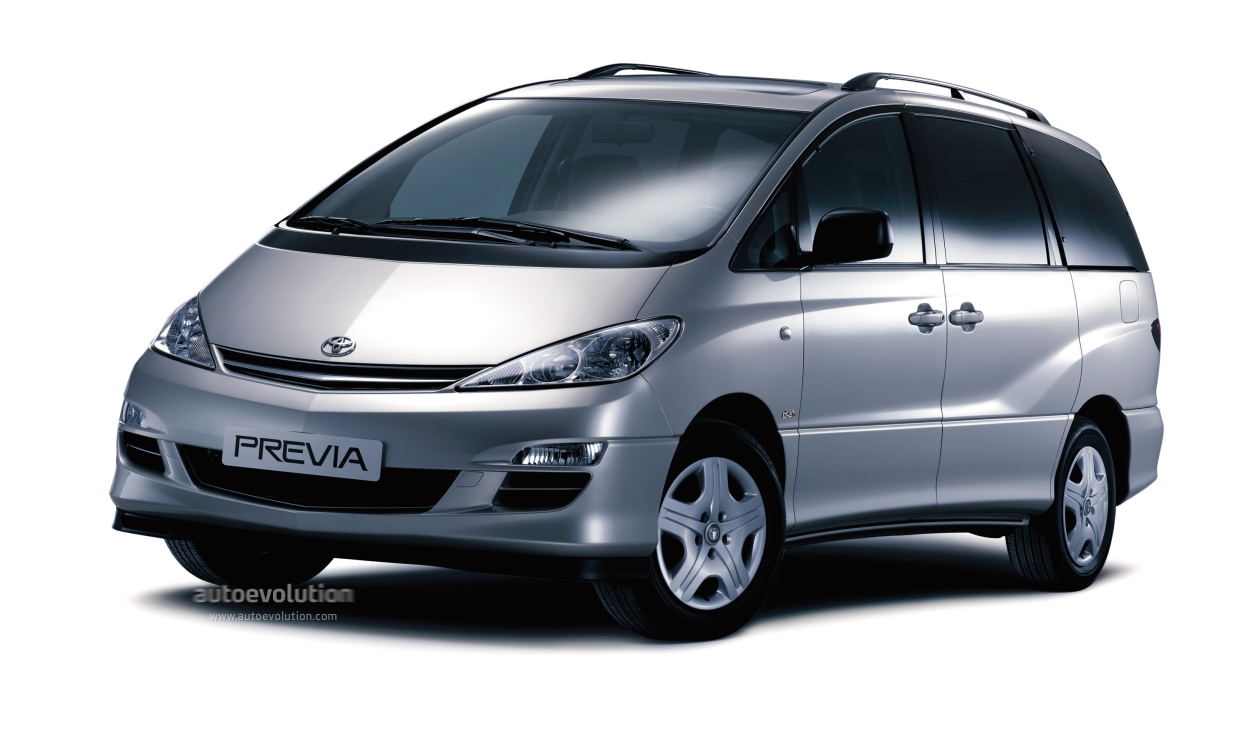 toyota previa specs 2003 2004 2005 autoevolution. Black Bedroom Furniture Sets. Home Design Ideas