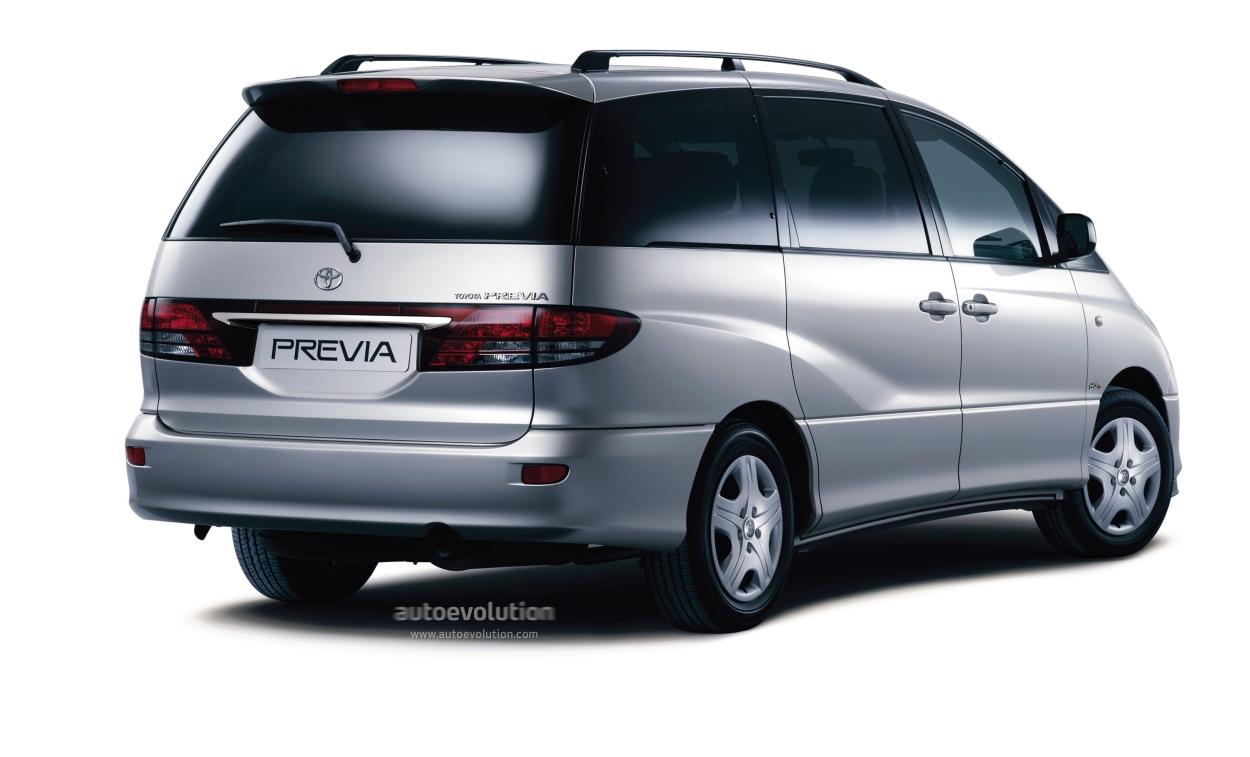 Toyota Previa 2003 2004 2005 Autoevolution