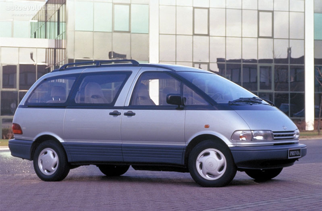 Toyotaprevia on 1997 plymouth grand voyager