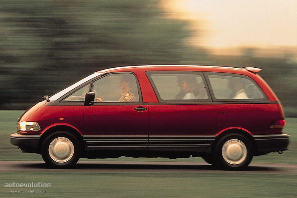 Toyota Previa Specs Amp Photos 1992 1993 1994 1995
