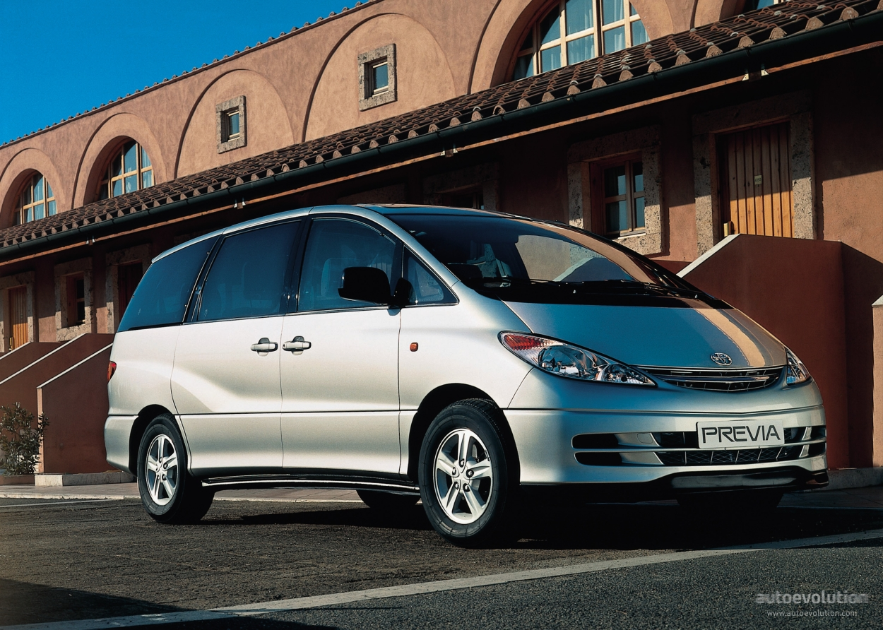 Toyotaprevia on 2001 Jeep S
