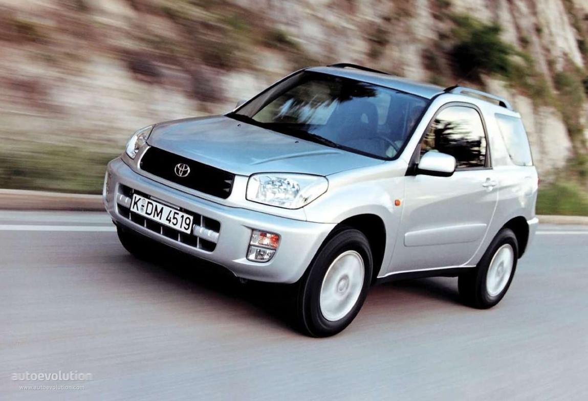 Toyota Rav4 3 Doors 2000 2001 2002 2003 Autoevolution