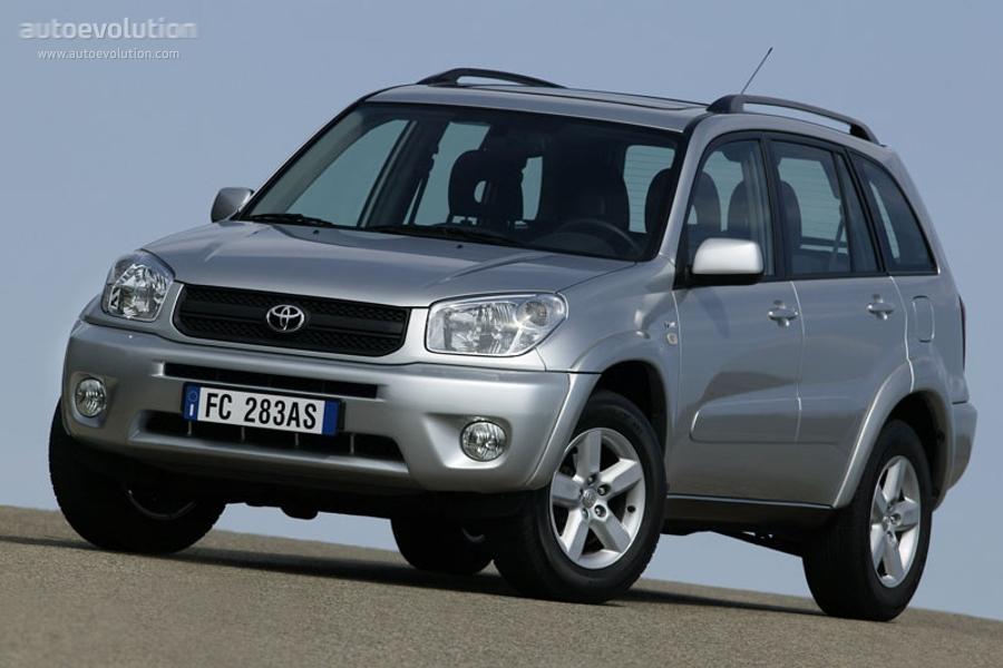 Toyota rav4 5 doors specs 2003 2004 2005 2006 - Toyota rav4 2eme generation 3 portes ...