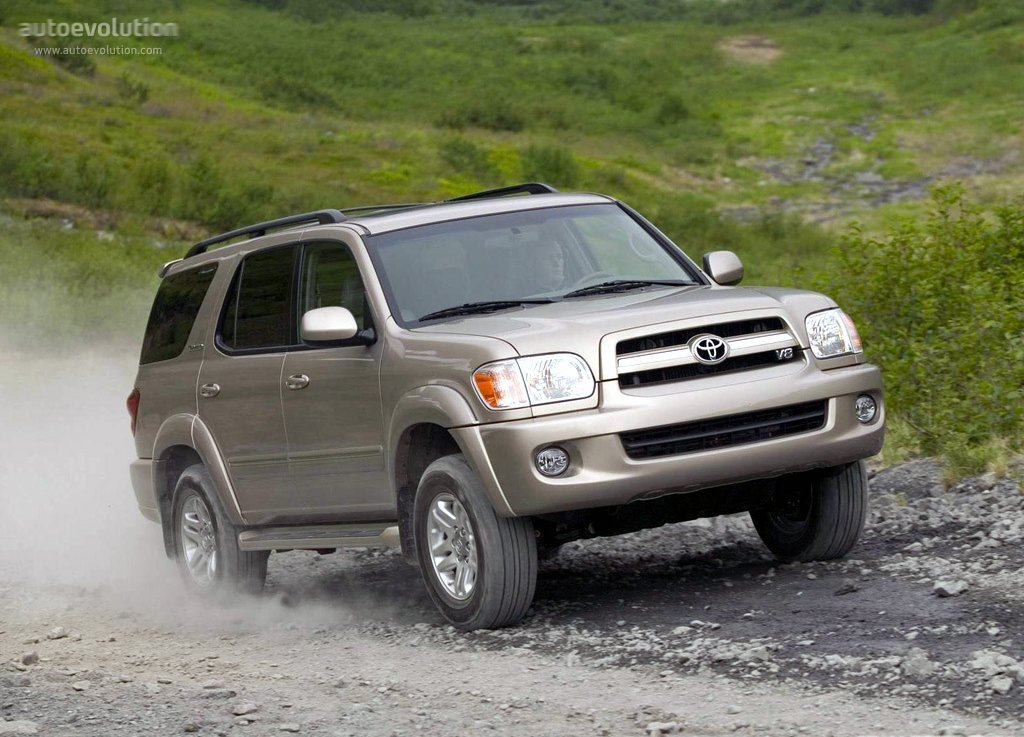 TOYOTA Sequoia specs & photos - 2000, 2001, 2002, 2003 ...