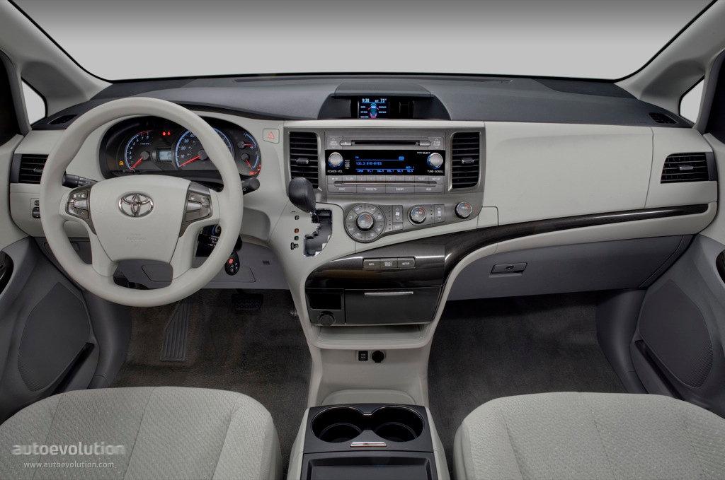 Toyota Sienna Specs Photos 2010 2011 2012 2013 2014 Autoevolution