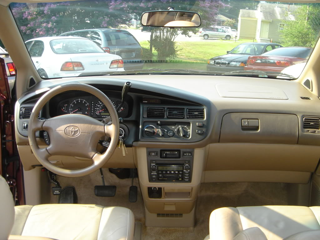 Toyota Sienna Specs 1998 1999 2000 2001 2002 2003