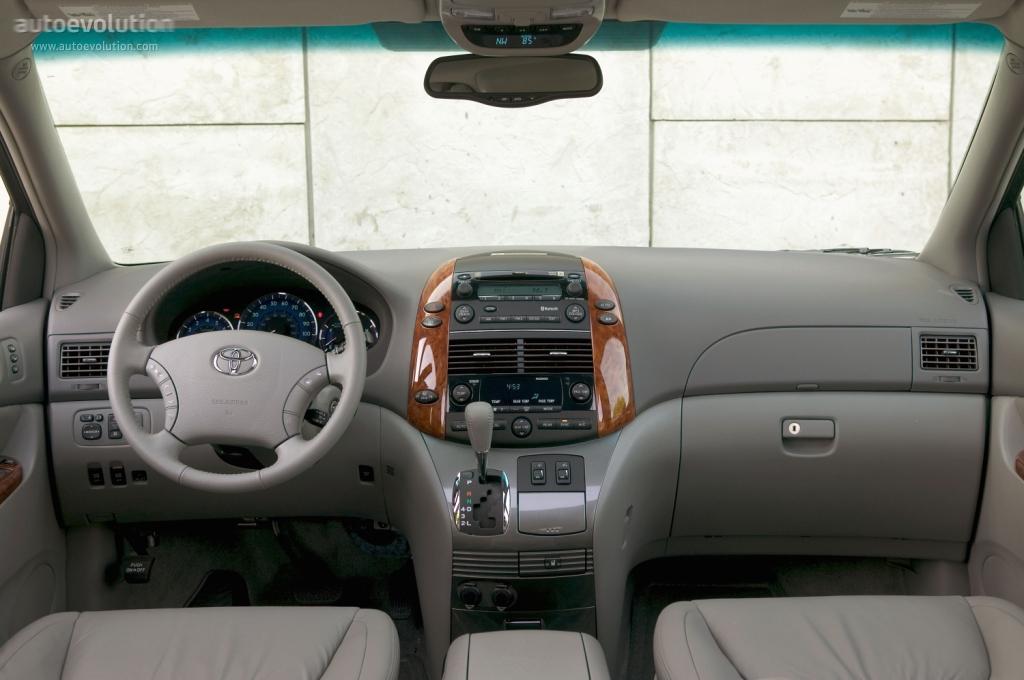 Toyota Sienna Specs 2004 2005 2006 2007 2008 2009 Autoevolution
