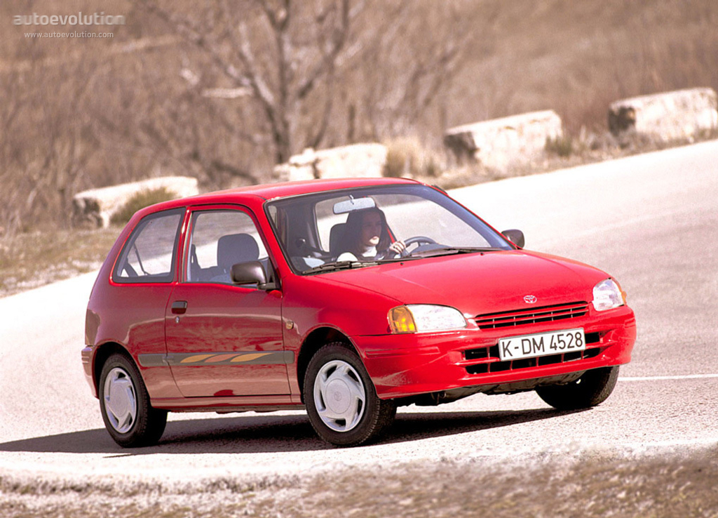 Toyota Starlet 3 Doors Specs 1996 1997 1998 1999