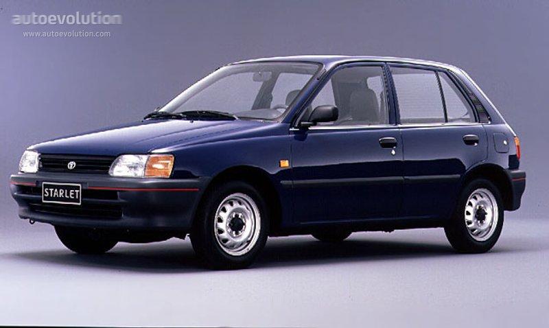 Toyota Starlet 5 Doors Specs 1990 1991 1992 1993
