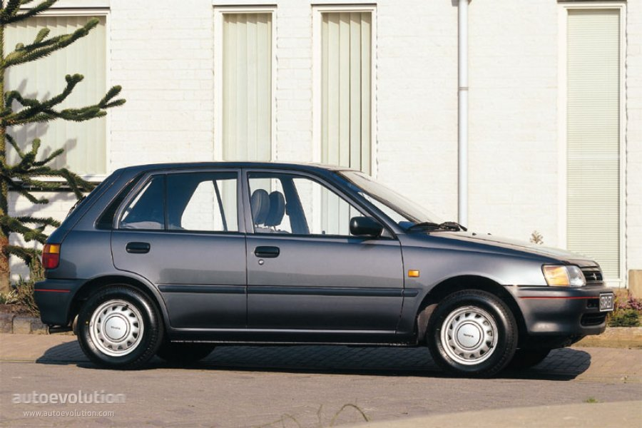 Toyota Starlet 5 Doors Specs 1990 1991 1992 1993 1994 1995 1996 Autoevolution
