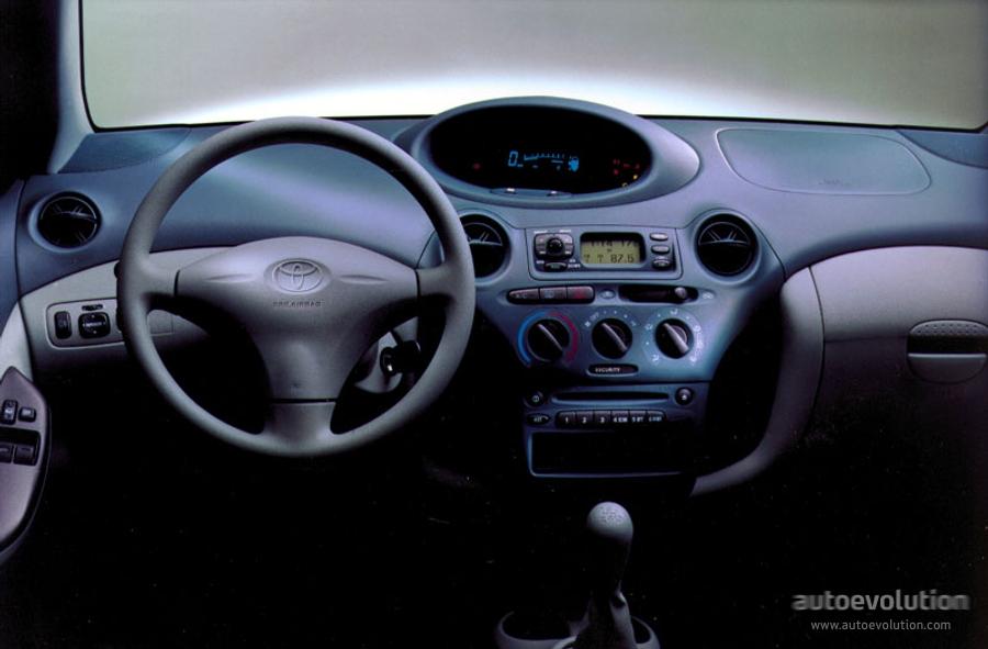 Toyota yaris 5 doors specs 1999 2000 2001 2002 2003 for Interieur toyota yaris 2000