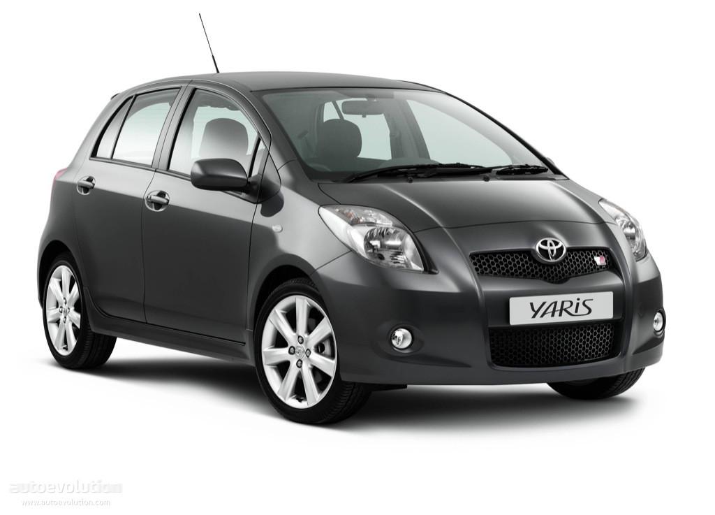 Toyota Yaris Ts 5 Doors Specs 2007 2008 2009 2010