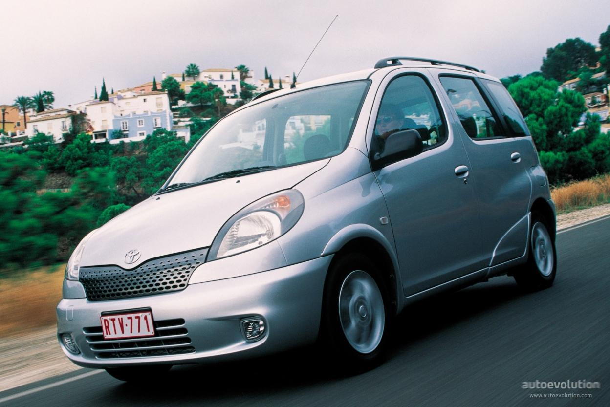 Toyota Yaris Verso Specs Amp Photos 1999 2000 2001 2002