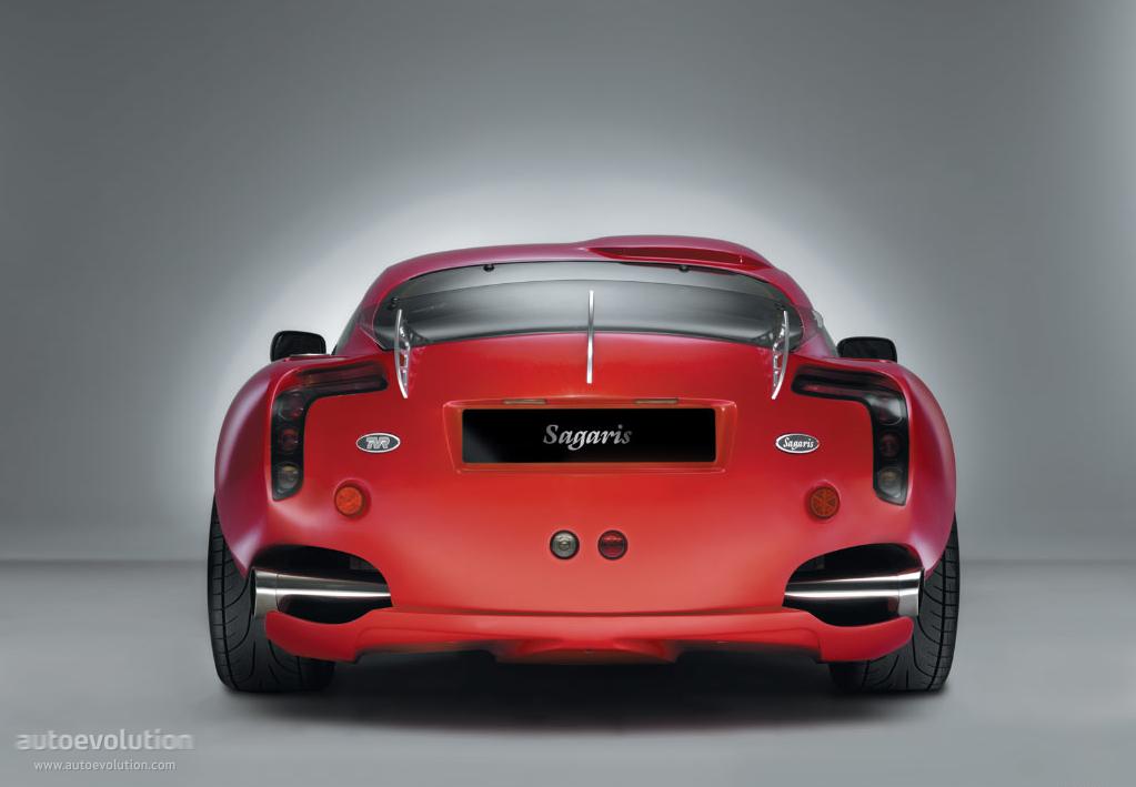 TVR Sagaris specs - 2004, 2005, 2006 - autoevolution