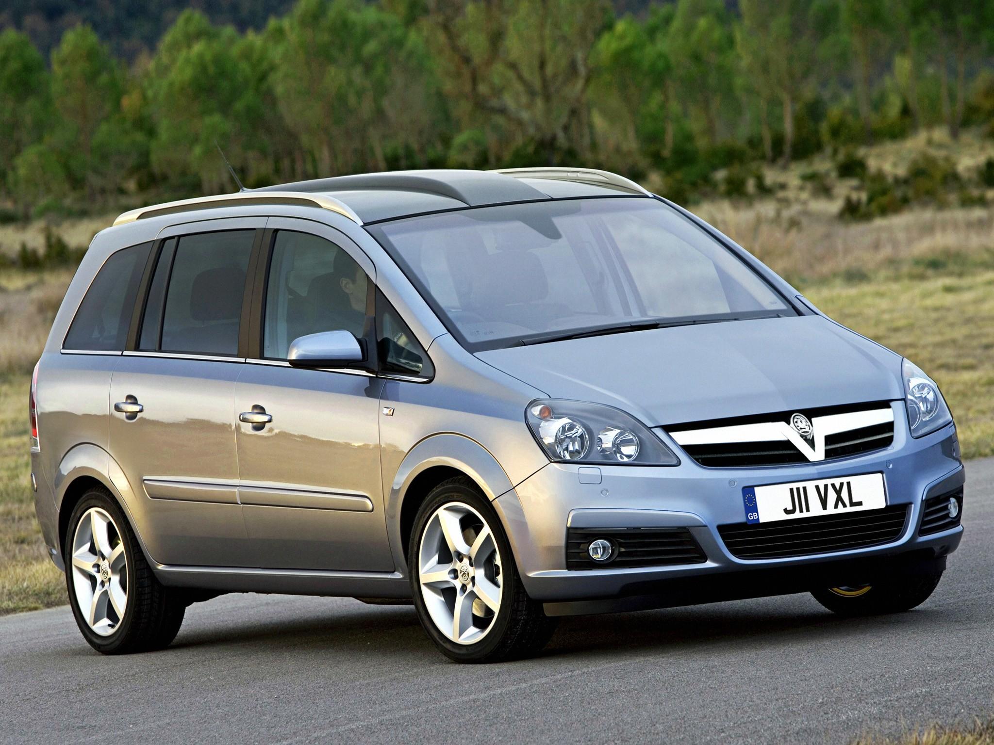 Vauxhall Zafira 2005 2006 2007 2008 2009 2010 2011