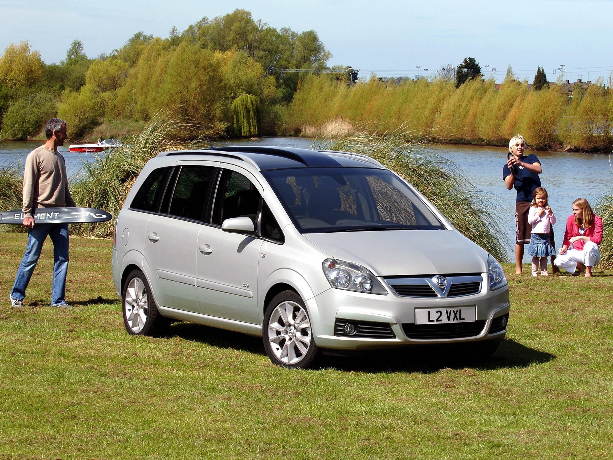 Vauxhall Zafira Specs 2005 2006 2007 2008 2009 2010