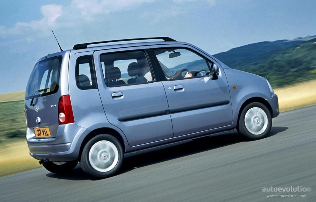 Vauxhall Agila Specs 2000 2001 2002 2003 2004 2005