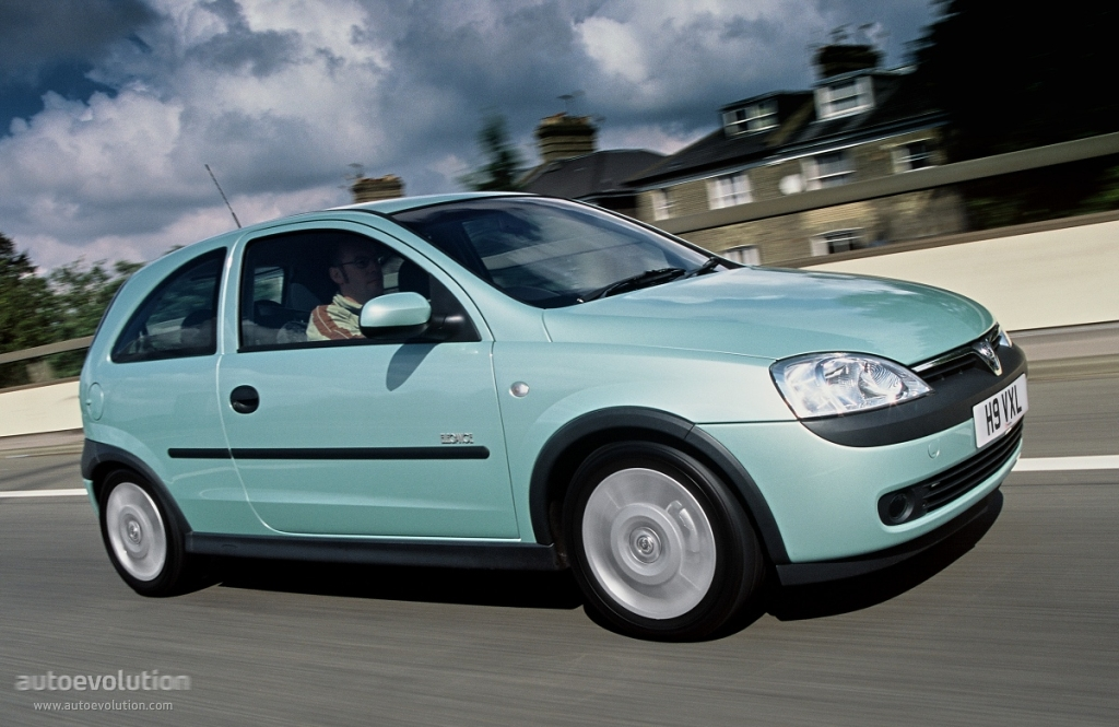 Vauxhall Corsa 3 Doors 2001 2002 2003 2004 2005