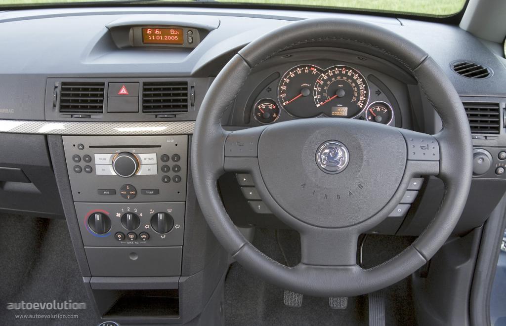 Vauxhall Meriva Specs Amp Photos 2003 2004 2005 2006