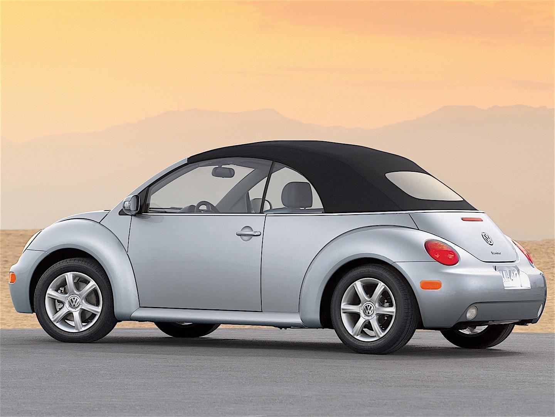 VOLKSWAGEN Beetle Cabrio specs & photos - 2003, 2004, 2005 - autoevolution